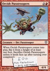 Orcish Paratroopers - Foil