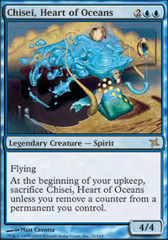 Chisei, Heart of Oceans - Foil on Channel Fireball