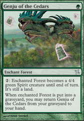 Genju of the Cedars - Foil