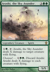 Arashi, the Sky Asunder - Foil on Channel Fireball