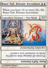 Rune-Tail, Kitsune Ascendant - Foil on Channel Fireball