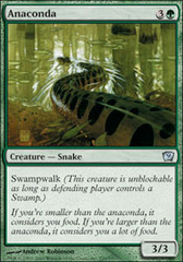 Anaconda - Foil on Channel Fireball