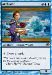 Archivist - Foil on Channel Fireball