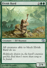 Elvish Bard - Foil