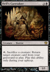 Hell's Caretaker - Foil on Channel Fireball