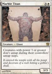 Marble Titan - Foil