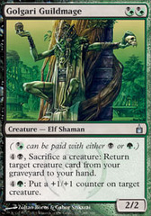 Golgari Guildmage - Foil on Ideal808