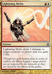 Lightning Helix - Foil on Channel Fireball