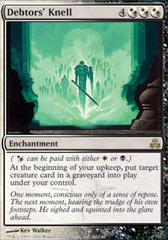 Debtors' Knell - Foil on Channel Fireball