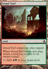 Gruul Turf - Foil on Channel Fireball