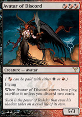 Avatar of Discord - Foil on Channel Fireball