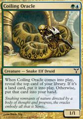 Coiling Oracle - Foil on Channel Fireball