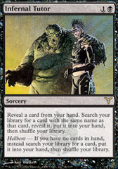 Infernal Tutor - Foil on Channel Fireball