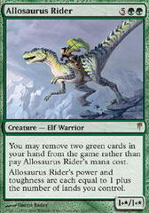 Allosaurus Rider - Foil on Channel Fireball