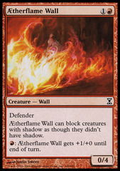 AEtherflame Wall - Foil on Channel Fireball