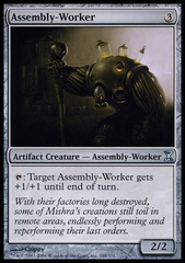 Assembly-Worker - Foil on Channel Fireball