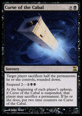 Curse of the Cabal - Foil