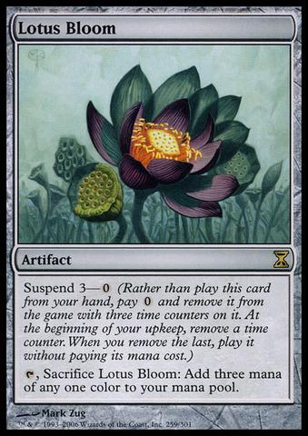 Lotus Bloom - Foil