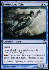 Stormcloud Djinn - Foil