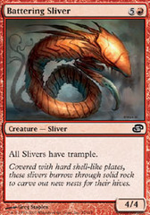 Battering Sliver - Foil on Channel Fireball