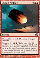 Shivan Meteor - Foil