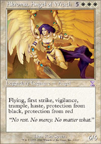 Akroma, Angel of Wrath - Foil