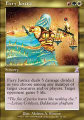 Fiery Justice - Foil