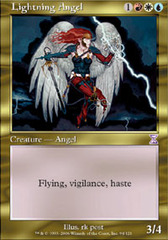 Lightning Angel - Foil on Channel Fireball