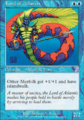 Lord of Atlantis - Foil on Channel Fireball