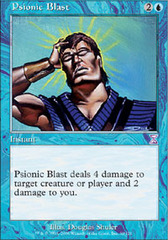 Psionic Blast - Foil on Channel Fireball