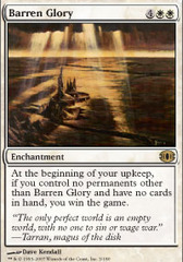 Barren Glory - Foil on Channel Fireball