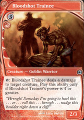 Bloodshot Trainee - Foil on Channel Fireball