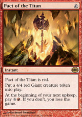 Pact of the Titan - Foil