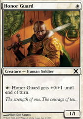 Honor Guard - Foil