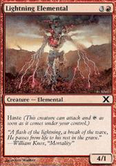 Lightning Elemental - Foil