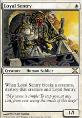Loyal Sentry - Foil