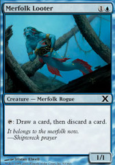 Merfolk Looter - Foil on Channel Fireball