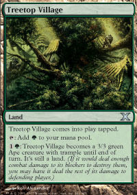 Treetop Village - Foil