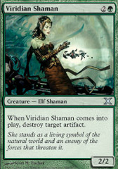 Viridian Shaman - Foil on Ideal808