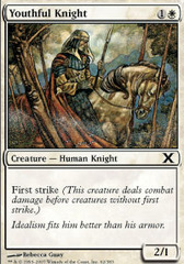 Youthful Knight - Foil