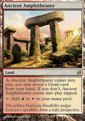 Ancient Amphitheater - Foil on Channel Fireball