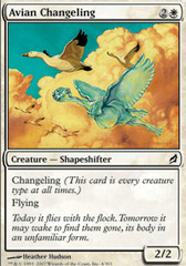 Avian Changeling - Foil on Channel Fireball