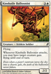 Kinsbaile Balloonist - Foil