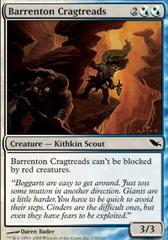 Barrenton Cragtreads - Foil on Channel Fireball
