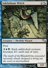 Inkfathom Witch - Foil