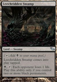 Leechridden Swamp - Foil