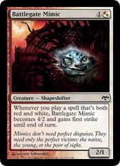 Battlegate Mimic - Foil on Channel Fireball