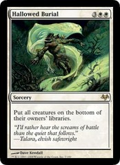 Hallowed Burial - Foil on Channel Fireball