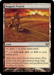 Rugged Prairie - Foil on Channel Fireball