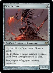 Scarecrone - Foil on Channel Fireball